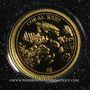 Münzen Nauru. République. 5 dollars 2009 (PTL 999‰. 0,5 g)