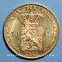 Münzen Pays-Bas. Guillaume III (1849-1890). 10 florins (= 10 gulden) 1888. 900/1000. 6,72 g.