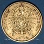 Münzen Prusse. Guillaume I (1861-1888). 10 mark 1872C. 900 /1000. 3,28 gr