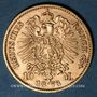 Münzen Prusse. Guillaume I (1861-1888). 10 mark 1873C. 900 /1000. 3,98 gr