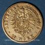 Münzen Prusse. Guillaume I (1861-1888). 10 mark 1875A. 900 /1000. 3,98 gr