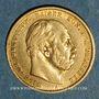 Münzen Prusse. Guillaume I (1861-1888). 10 mark 1877A. (PTL 900 /1000. 3,98 gr)