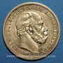 Münzen Prusse. Guillaume I (1861-1888). 20 mark 1871A. 900 /1000. 7,96 gr