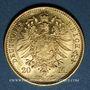 Münzen Prusse. Guillaume I (1861-1888). 20 mark 1872A. 900 /1000. 7,96 gr