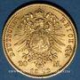 Münzen Prusse. Guillaume I (1861-1888). 20 mark 1872C. 900 /1000. 7,96 gr