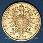 Münzen Prusse. Guillaume I (1861-1888). 20 mark 1873B. 900 /1000. 7,96 gr