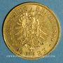 Münzen Prusse. Guillaume I (1861-1888). 20 mark 1884 A. (PTL 900‰. 7,96 g)