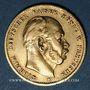 Münzen Prusse. Guillaume I (1861-1988). 10 mark 1873B. 900 /1000. 3,98 gr