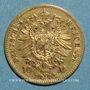 Münzen Prusse. Guillaume I (1861-1988). 10 mark 1873B. (PTL900 /1000. 3,98 gr)