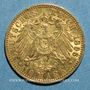 Münzen Prusse. Guillaume II (1888-1918). 10 mark 1896A. 900 /1000. 3,98 gr