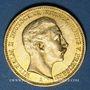 Münzen Prusse. Guillaume II (1888-1918). 20 mark 1901A. 900 /1000. 7,96 gr