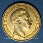 Münzen Prusse. Guillaume II (1888-1918). 20 mark 1902A. 900 /1000. 7,96 gr