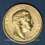 Münzen Prusse. Guillaume II (1888-1918). 20 mark 1907A. 900 /1000. 7,96 gr