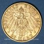 Münzen Prusse. Guillaume II (1888-1918). 20 mark 1911A. 900 /1000. 7,96 gr