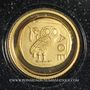 Münzen République Démocratique du Congo. 10 francs (2003) (PTL 999‰. 0,5 g)