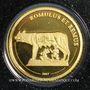 Münzen République du Congo. 1 500 francs CFA. 2007. (PTL 999‰. 0,5 g)