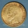 Münzen Roumanie. Charles I, roi (1881-1914). 20 lei 1906. (PTL 900‰. 6,45 g)