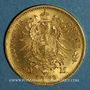 Münzen Saxe. Jean I (1854-1873). 20 mark 1873 E. (PTL 900‰. 7,96 g)