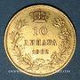 Münzen Serbie. Milan Obrenovich IV, roi (1882-1889). 10 dinars 1882