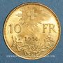 Münzen Suisse. 10 francs 1914B. (PTL 900‰. 3,22 g)