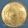 Münzen Suisse. 10 francs 1922B. (PTL 900‰. 3,22 g)
