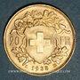 Münzen Suisse. Confédération. 20 francs Vreneli 1935LB. 900 /1000. 6,45 gr