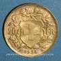 Münzen Suisse. Confédération. 20 francs Vreneli 1935LB. (PTL 900‰. 6,45 g)