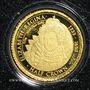 Münzen Tristan Da Cunha. Elisabeth II (1952 -/). Half crown 2014 (PTL 999‰. 0,5 g)