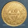 Münzen Tunisie. Ahmed III, bey (1348-1361H = 1929-1942). 100 francs 1354H /1935 (PTL 900‰. 6,55 g)
