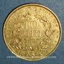 Münzen Vatican. Pie IX (1846-1878). 10 lires 1867 an XXII R. Rome. (PTL 900‰. 3,22 g)