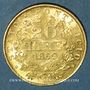 Münzen Vatican. Pie IX (1846-1878). 20 lires 1869 an XXIV R. Rome (PTL 900‰. 6,45 g)