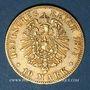 Münzen Wurtemberg. Charles I (1864-1891). 10 mark 1875F. (PTL 900/1000. 3,98 g)