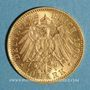 Münzen Wurtemberg. Guillaume II (1891-1918). 10 mark 1904F. (PTL 900‰. 3,98 g)