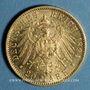 Münzen Wurtemberg. Guillaume II (1891-1918). 20 mark 1894F. 900 /1000. 7,96 gr