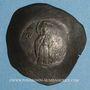 Münzen Empire Byzantin. Andronic I (1183-1185). Aspron Trachy. Constantinople
