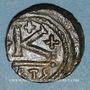 Münzen Empire byzantin. Constant II (641-668). 1/2 follis. Carthage, 641-643