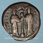 Münzen Empire byzantin. Constantin X Ducas (1059-1067). Follis. Constantinople, 1059-1067