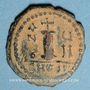 Münzen Empire byzantin. Justin II (565-578). Décanoummion. Théoupolis (Antioche), 571-572