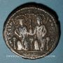 Münzen Empire byzantin. Justin II (565-578). Follis. Théoupolis (Antioche), 3e officine, 575-576