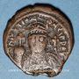 Münzen Empire byzantin. Justinien I (527-565). 1/2 follis. Cyzique, 551-552