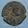 Münzen Empire byzantin. Justinien I (527-565). Décanoummion. Constantinople, 554-555