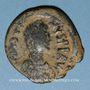 Münzen Empire byzantin. Justinien I (527-565). Follis. Constantinople, 4e officine, 527-538