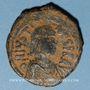Münzen Empire byzantin. Justinien I (527-565). Follis. Constantinople, (officine illisible), 527-538