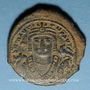 Münzen Empire byzantin. Maurice Tibère (582-602). Follis. Théopoulis (Antioche), 3e officine, 592-593
