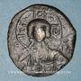Münzen Empire byzantin. Monnayage anonyme attribué à Romain III (1028-1034). Follis, classe B