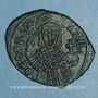 Münzen Empire byzantin. Théophile (829-842). Follis. Constantinople, 830/831-842