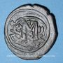 Münzen Héraclius (610-641) et Héraclius Constantin (613-631). Follis. Constantinople, 3e officine, 613