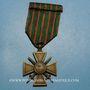 Münzen Croix de guerre 1914-1918. 1er modèle 1914-1915. 1 fourragère et 3 citations