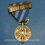 Münzen Médaille de la Déportation et de l'Internement (1939-1945). Modèle pour les politiques avec barrette