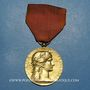 Münzen Médaille de la Société Industrielle de l'Est. Vermeil (poinçon argent 1er titre)